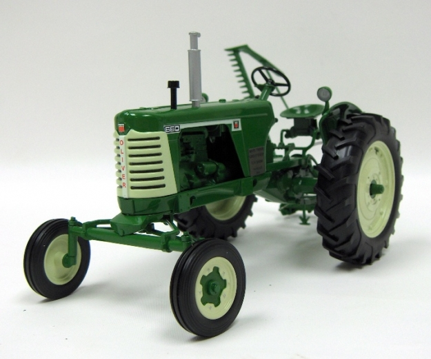 new to the shelf 2009 mark twain show oliver 660 Oliver 550 Tractor high detail series oliver 660