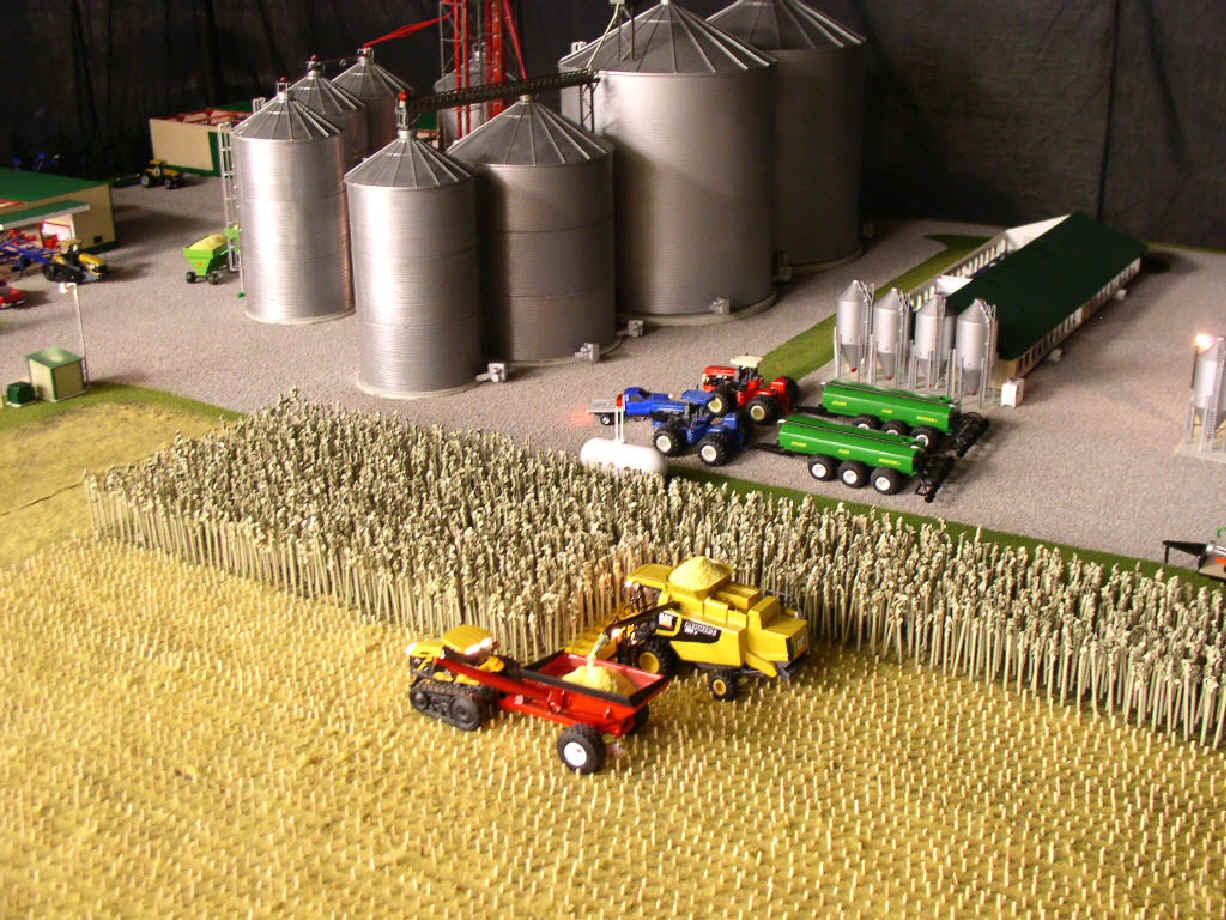Farm Toy Displays