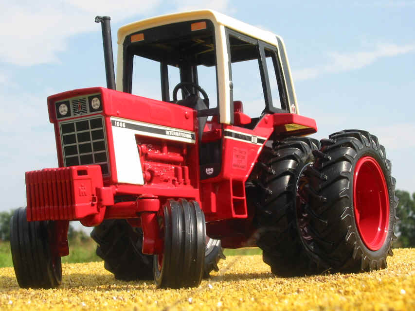 International Harvester Farmall Tractors during the 1950s and '60s